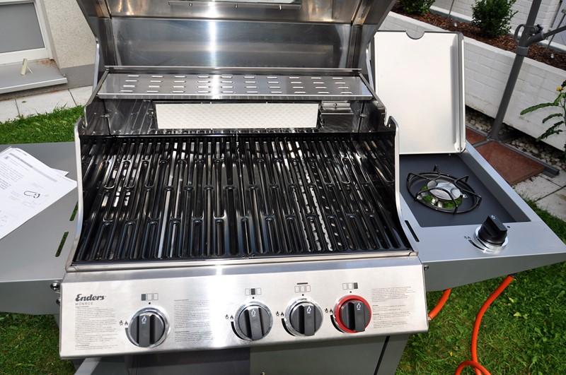 Enders Gasgrill Test Monroe : Enders monroe sik turbo grillforum und bbq