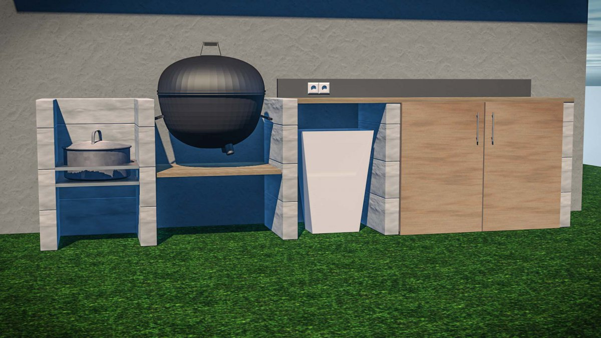 weber k chenzeile grillforum und bbq www. Black Bedroom Furniture Sets. Home Design Ideas