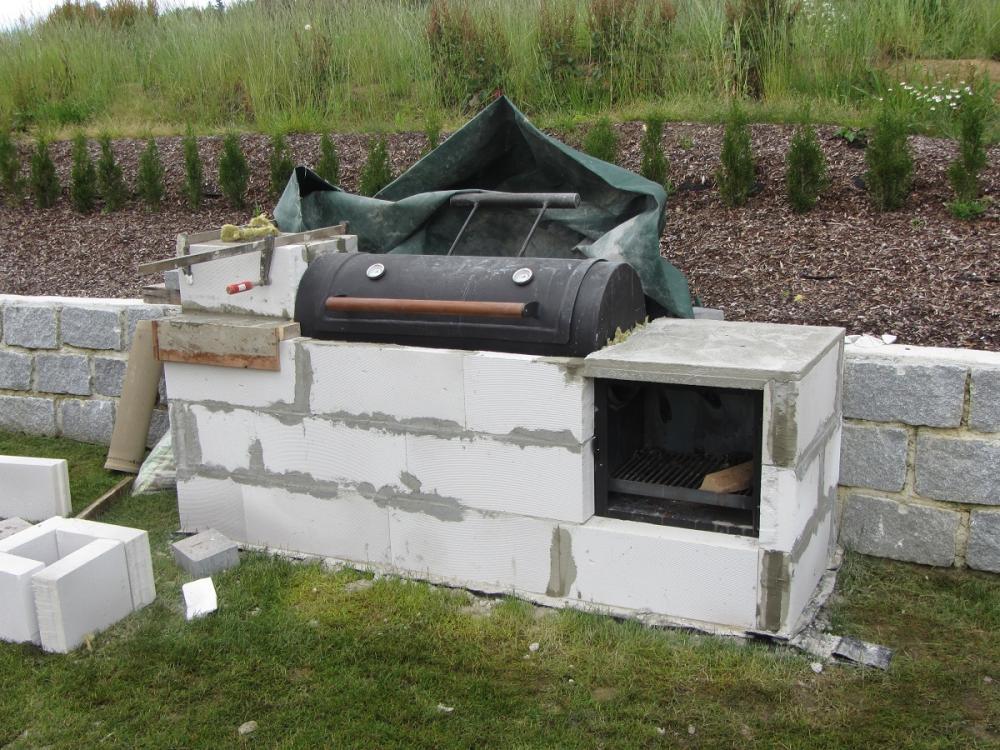 Gemauerte grill smoker steinbackofen kombinatio seite 3 for Gemauerter grill
