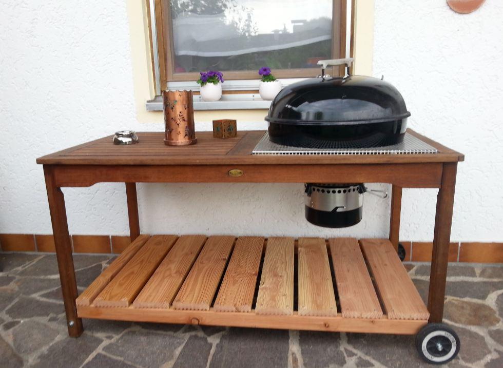vorstellung mit weber kugel tuning grillforum und bbq. Black Bedroom Furniture Sets. Home Design Ideas