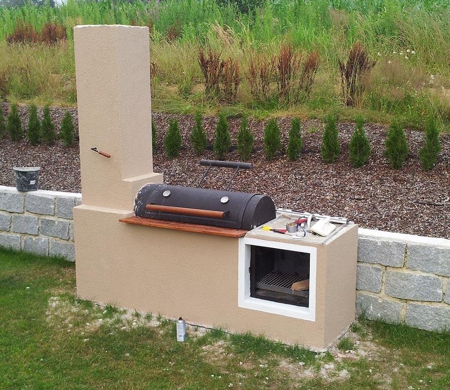 gemauerte grill smoker steinbackofen kombinatio seite 3 grillforum und bbq www. Black Bedroom Furniture Sets. Home Design Ideas