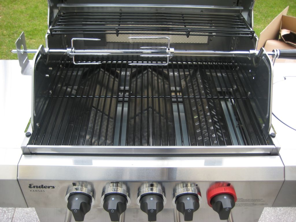 Enders Gasgrill Kansas 4 Sik Profi Turbo : Erfahrungsbericht enders kansas sikg turbo grillforum und bbq