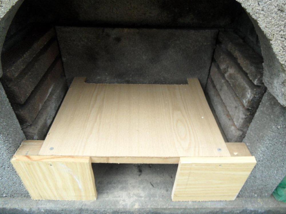 vom grillkamin zum pizzaofen grillforum und bbq. Black Bedroom Furniture Sets. Home Design Ideas