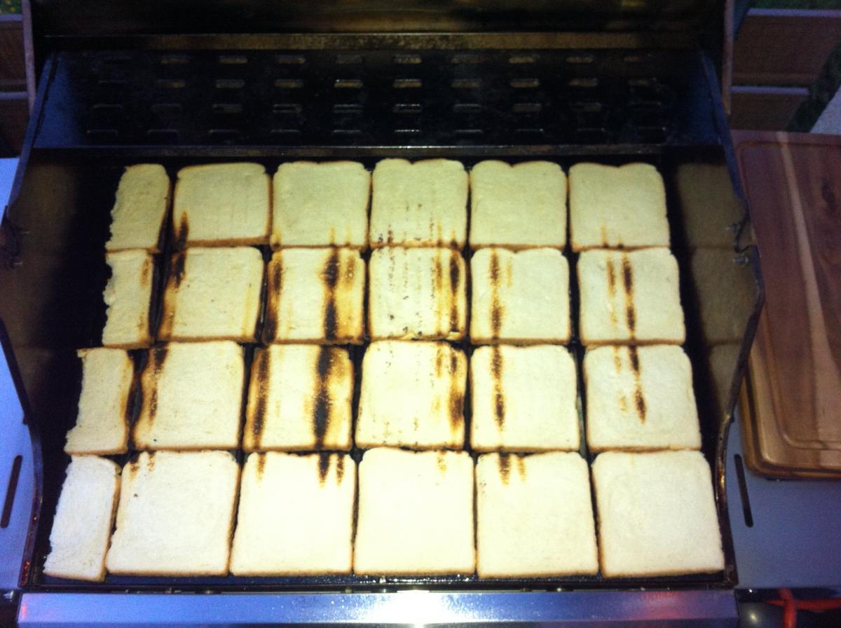 Aldi Gasgrill Silverline Hersteller : Toastbrottest zur bestimmung der hitzeverteilung beim gasgrill
