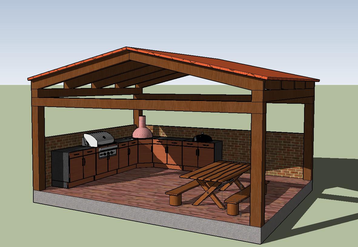 mein projekt 2016 grillh tte grillforum und bbq www. Black Bedroom Furniture Sets. Home Design Ideas