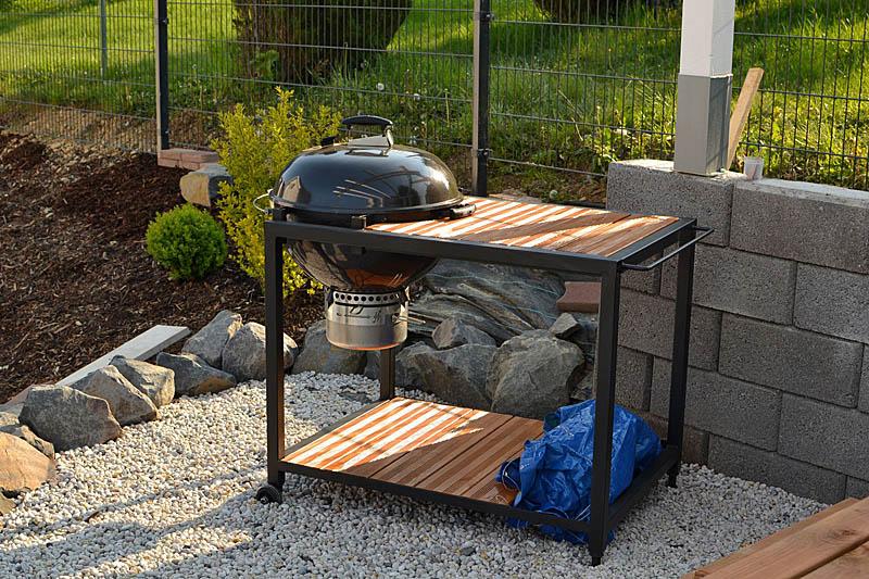 pimp my 57er weber kugel grilltisch wagen grillforum und bbq. Black Bedroom Furniture Sets. Home Design Ideas