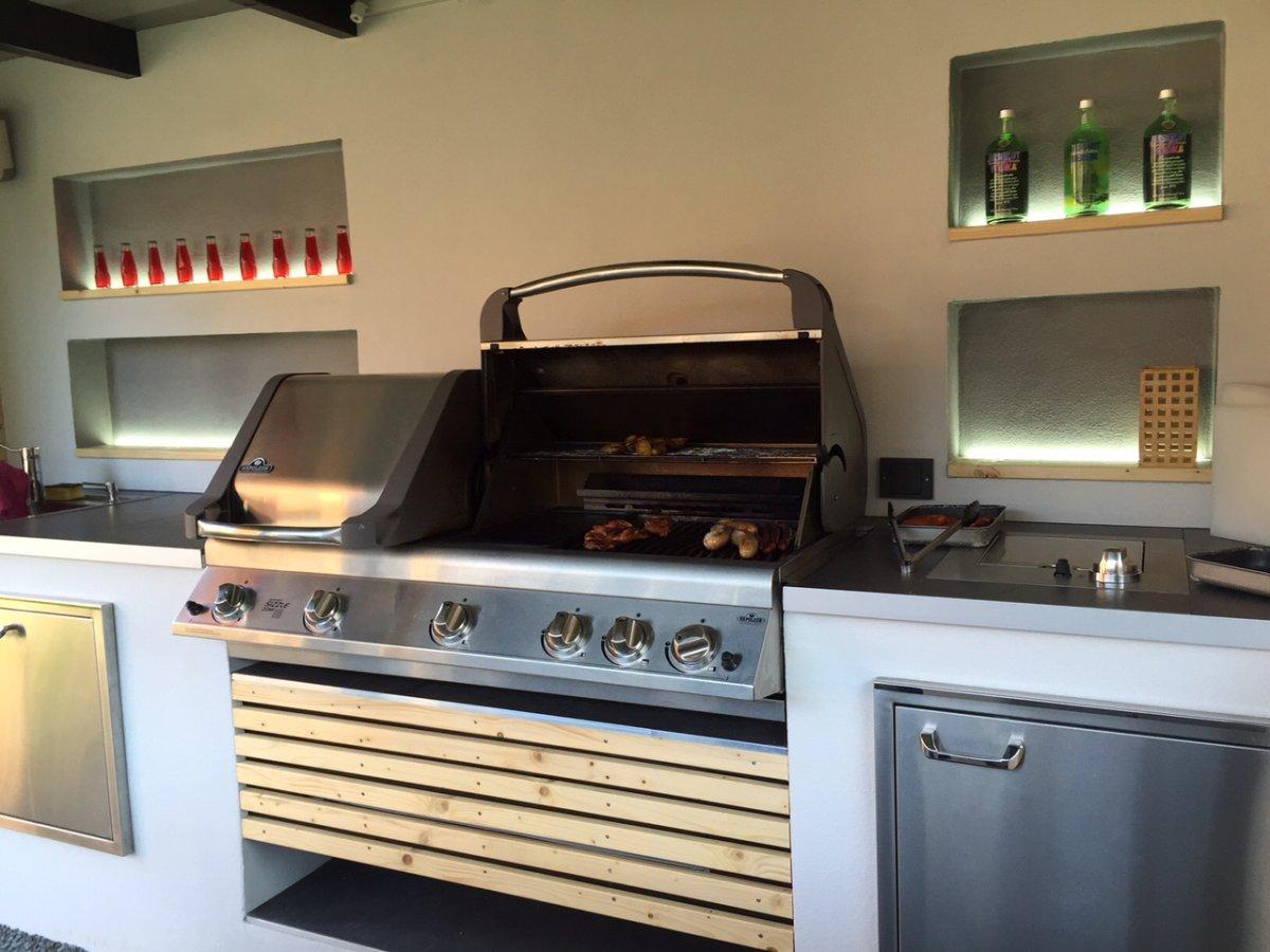 Edelstahltüren Für Outdoor Küche : Zeigt her eure outdoorküchen grillforum und bbq www