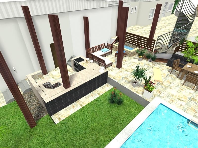 Outdoorküche Mit Spüle Xxl : Nun kommt der garten dran poolbau outdoorküche und terrassen