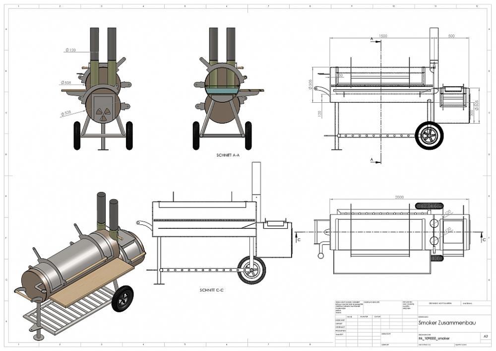 planung smoker reverse flow seite 3 grillforum und. Black Bedroom Furniture Sets. Home Design Ideas