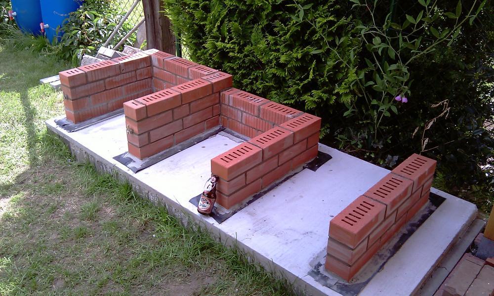 grill selber mauern cool ein gemauerter grill kann mit ytong selbst gebaut werden with grill. Black Bedroom Furniture Sets. Home Design Ideas