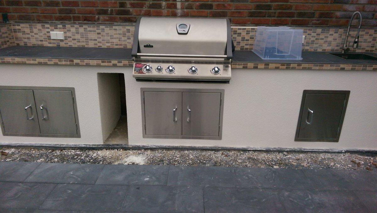 Türen Für Außenküchen : Projekt aussenküche 2013 2014 seite 3 grillforum und bbq www