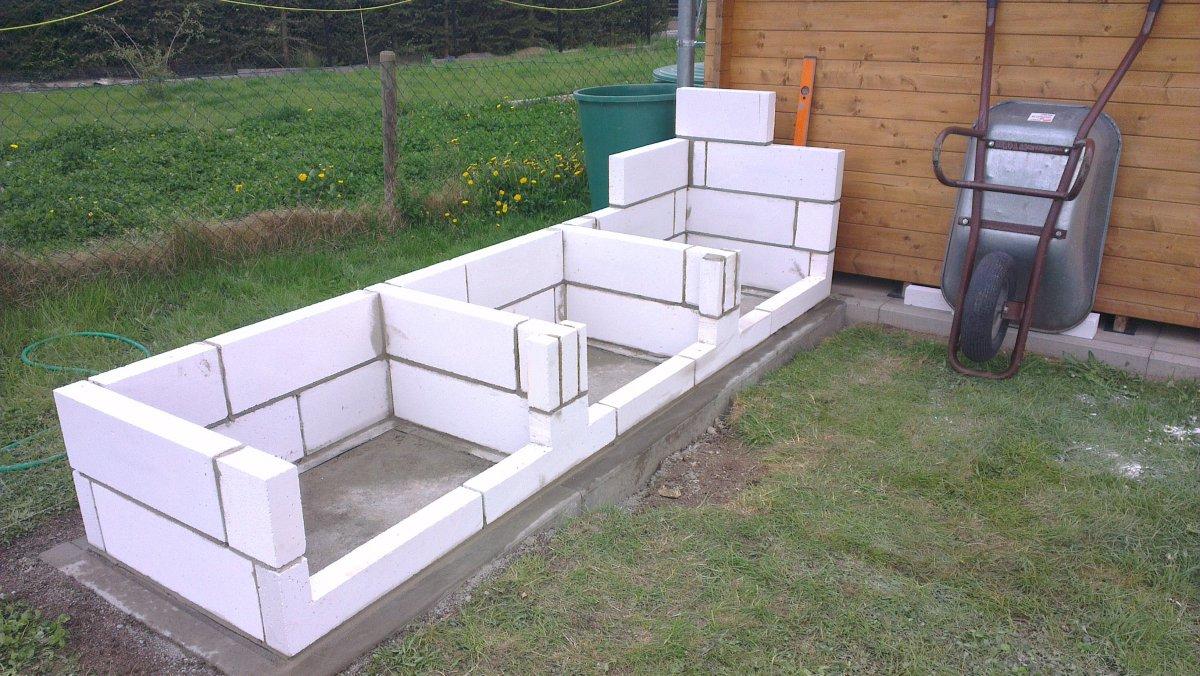 Holz Für Außenküche : Aussenküche bauen holz gartenlounge selber bauen u anleitung von