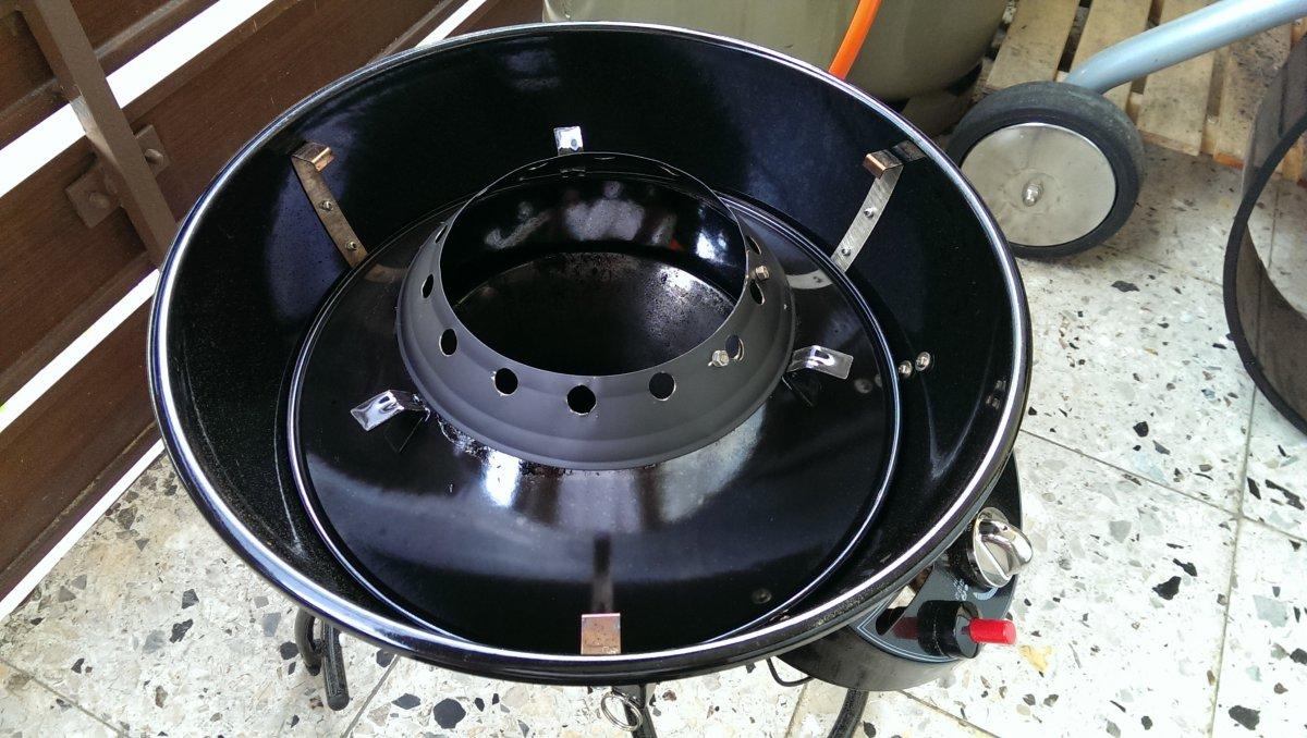 outdoorchef city 420 g mit wok aufsatz der gro en. Black Bedroom Furniture Sets. Home Design Ideas