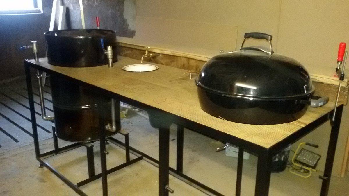 ein neues zuhause f r meinen smoker und die kugel seite 2 grillforum und bbq www. Black Bedroom Furniture Sets. Home Design Ideas