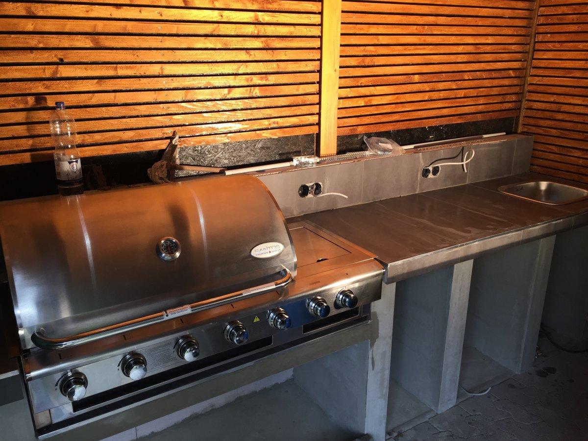 Outdoorküche Arbeitsplatte Küche : Arbeitsplatte für outdoorküche grillforum und bbq