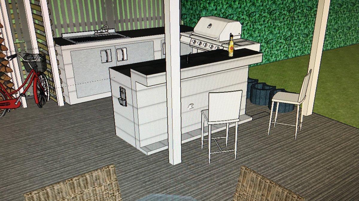 tipps anregungen zu outdoork che auf holz st nderwerk erbeten grillforum und bbq www. Black Bedroom Furniture Sets. Home Design Ideas