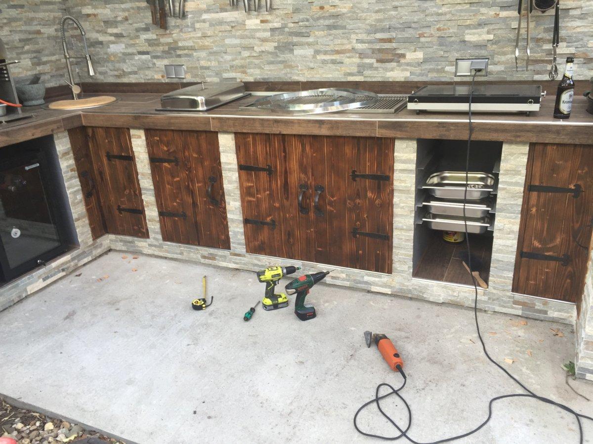 Türen Für Outdoor Küche : Planung outdoorküche seite grillforum und bbq