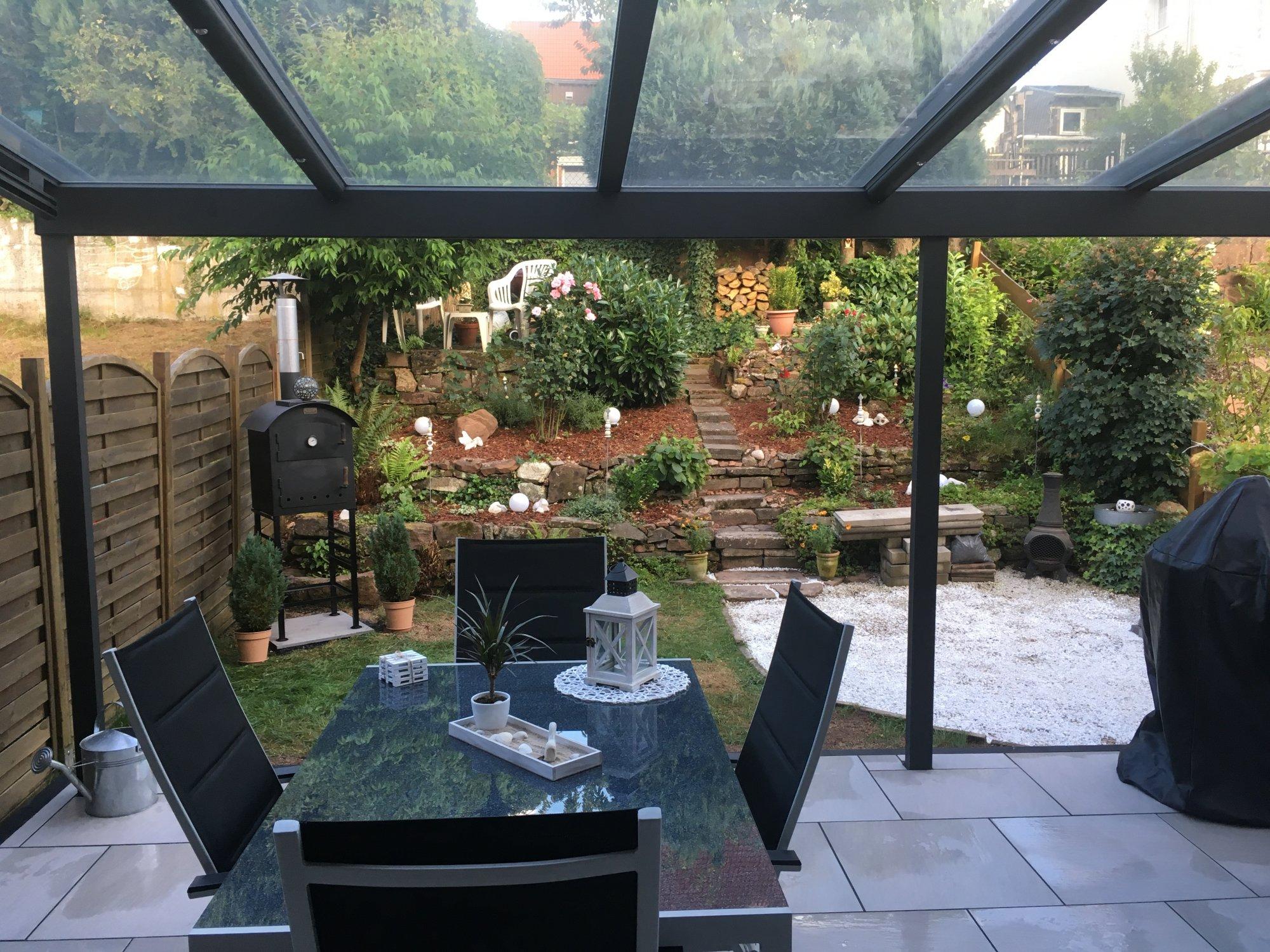 Outdoorküche Weber Q1200 : Outdoorküche 2. bauabschnitt fertig : erweiterung terrassenfläche