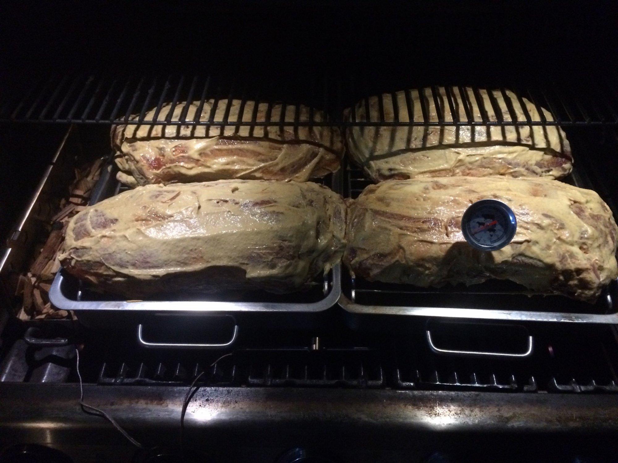 Pulled Pork Gasgrill Grillsportverein : Pulled pork im gasgrill ohne wasserschale grillforum und bbq www