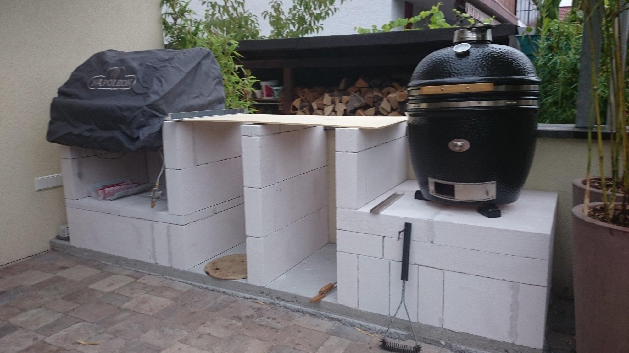 Outdoor Küche Edelstahl Türen : Kleine outdoorküche grillforum und bbq grillsportverein