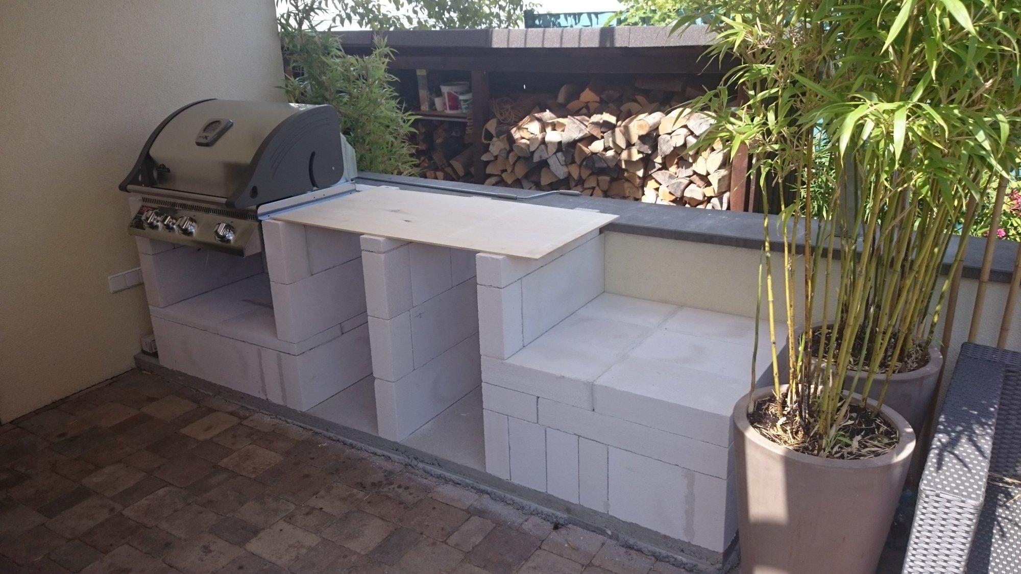 Kleine Outdoor Küche : Kleine outdoorküche grillforum und bbq grillsportverein