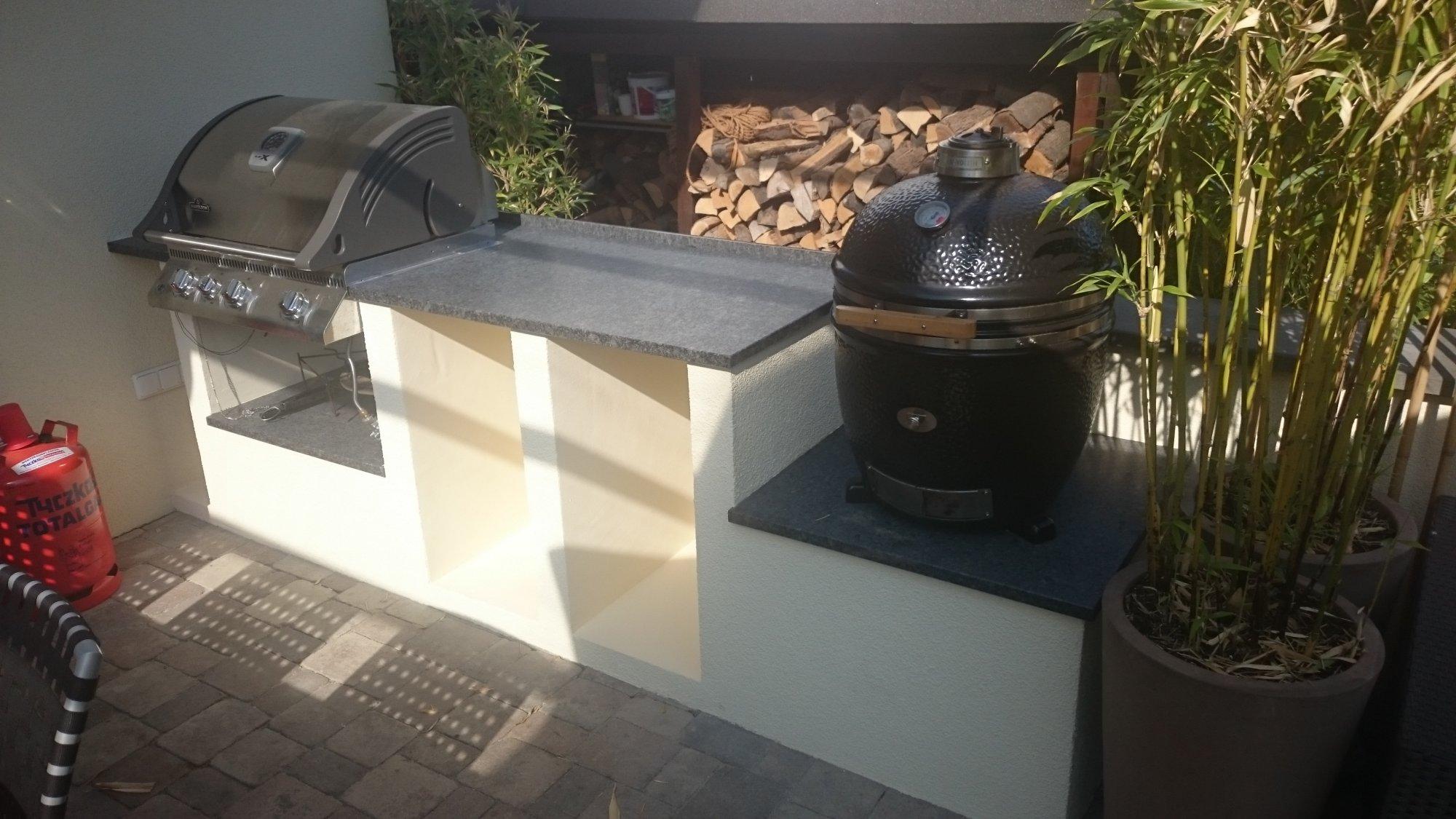 Outdoor Küche Verputzen : Kleine outdoorküche grillforum und bbq grillsportverein