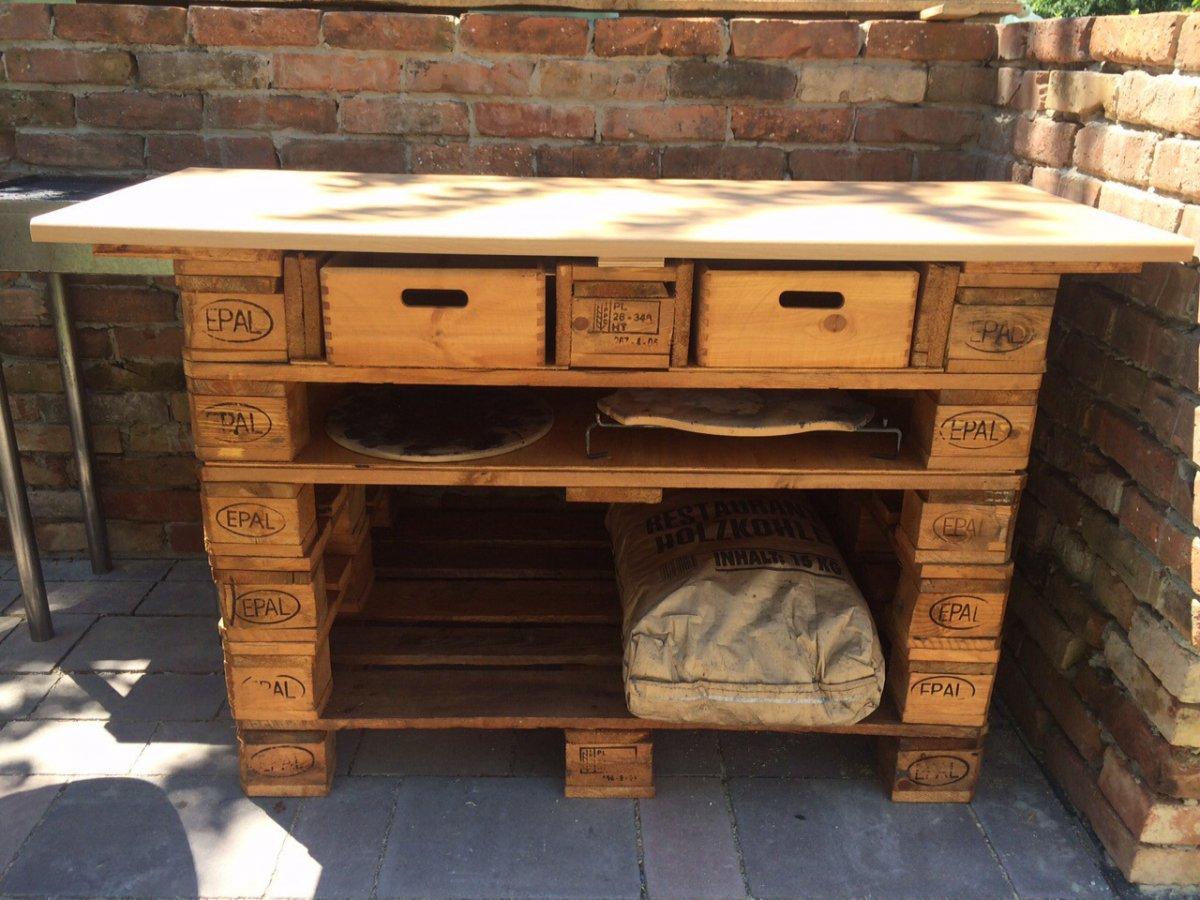 Holz Für Außenküche : Eigenbauten aus holz seite grillforum und bbq
