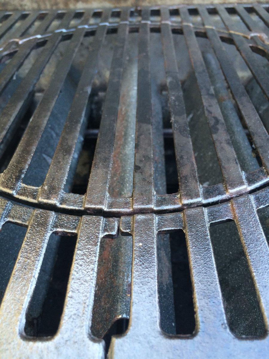 emaillierter grillrost reinigen
