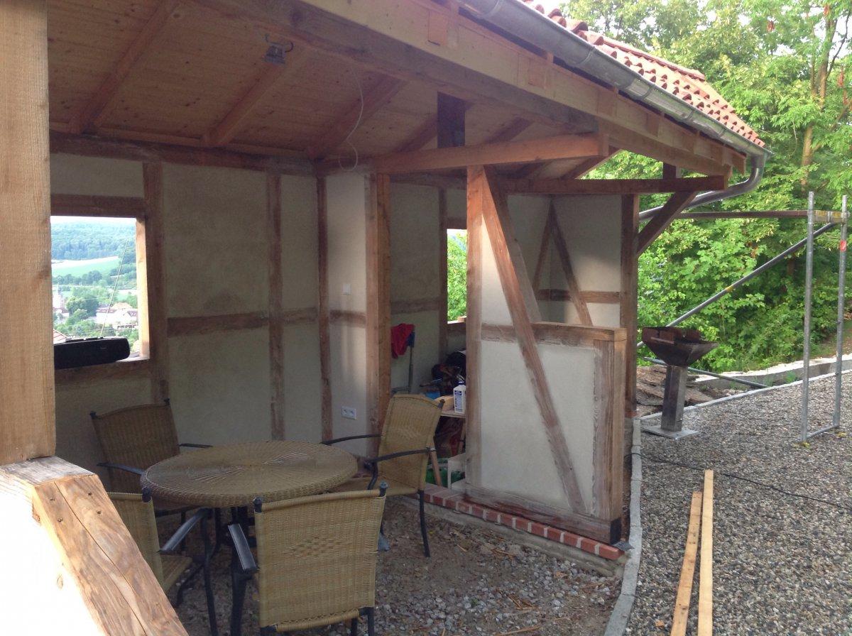 Dach Für Außenküche : Bau einer außenküche seite grillforum und bbq