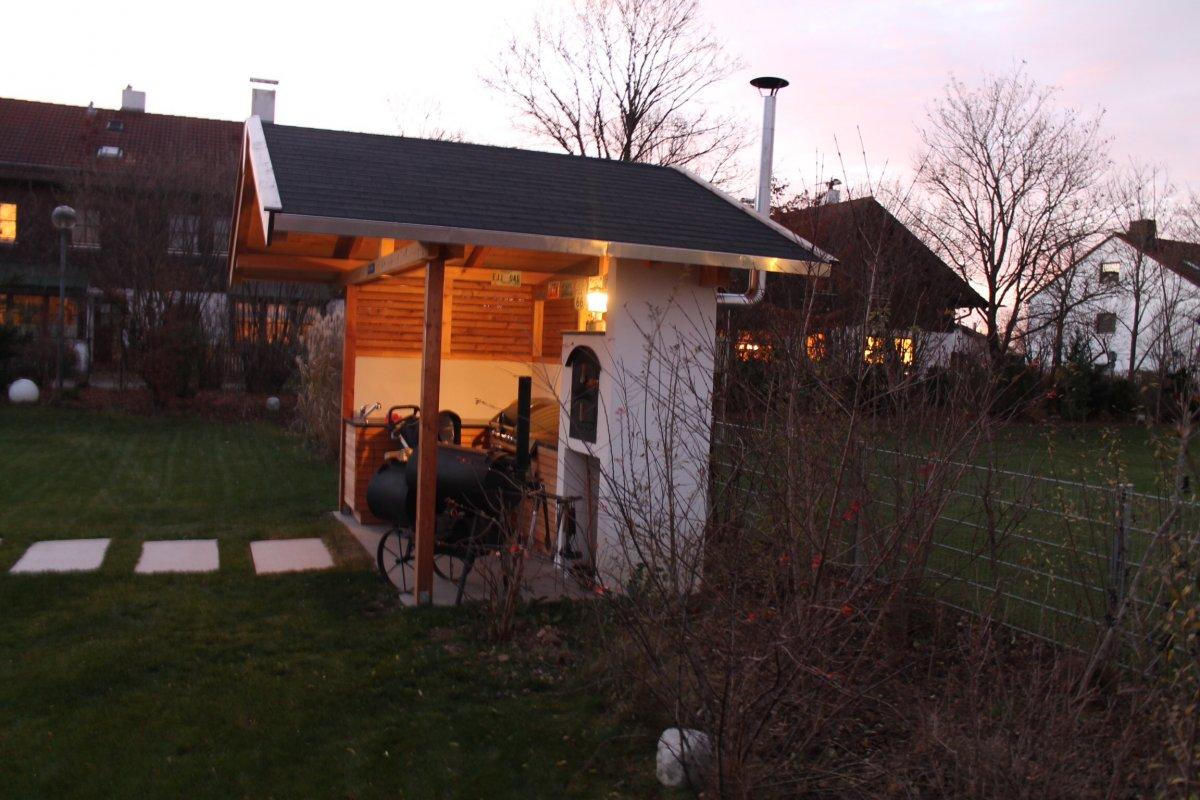 Außenküche Mit Smoker : Aussenküche für gasgrill smoker hbo letz go 2015seite 12