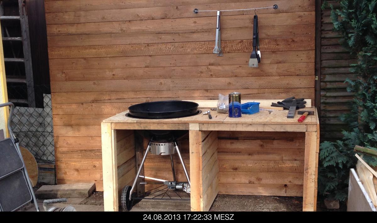 grill tisch eigenbau grillforum und bbq. Black Bedroom Furniture Sets. Home Design Ideas