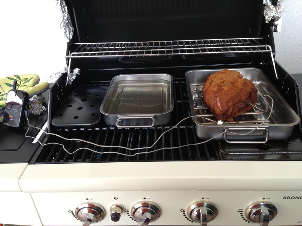 Pulled Pork Gasgrill Outdoorchef : Pulled pork aufm bronco 4b grillforum und bbq www