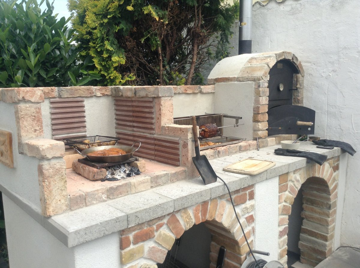 Sommerküche Bauen Lassen : Sommerküche bauen aussenküche zubehör outdoor küche