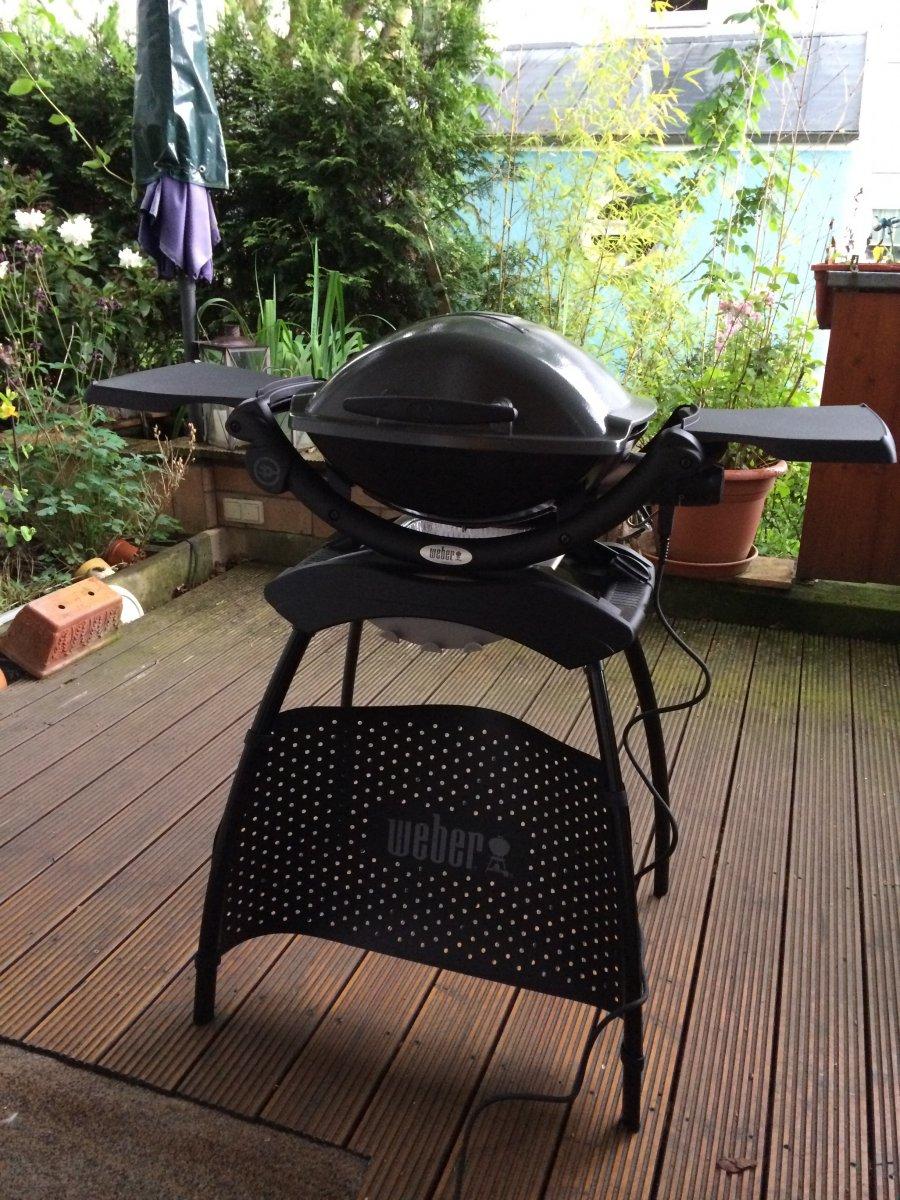 Barbecue électrique Weber Q 1400 Stand | Hair Blog