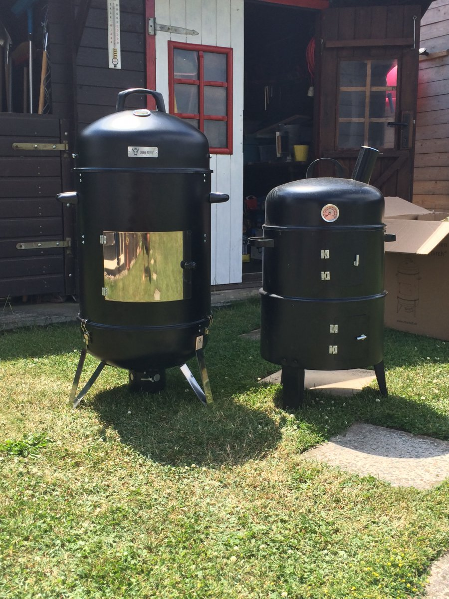 einsteigermodell watersmoker grillforum und bbq www. Black Bedroom Furniture Sets. Home Design Ideas