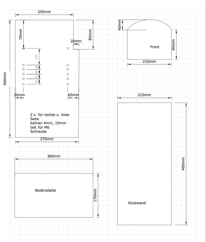 selbstbau eines oberhitze grills seite 143 grillforum und bbq. Black Bedroom Furniture Sets. Home Design Ideas