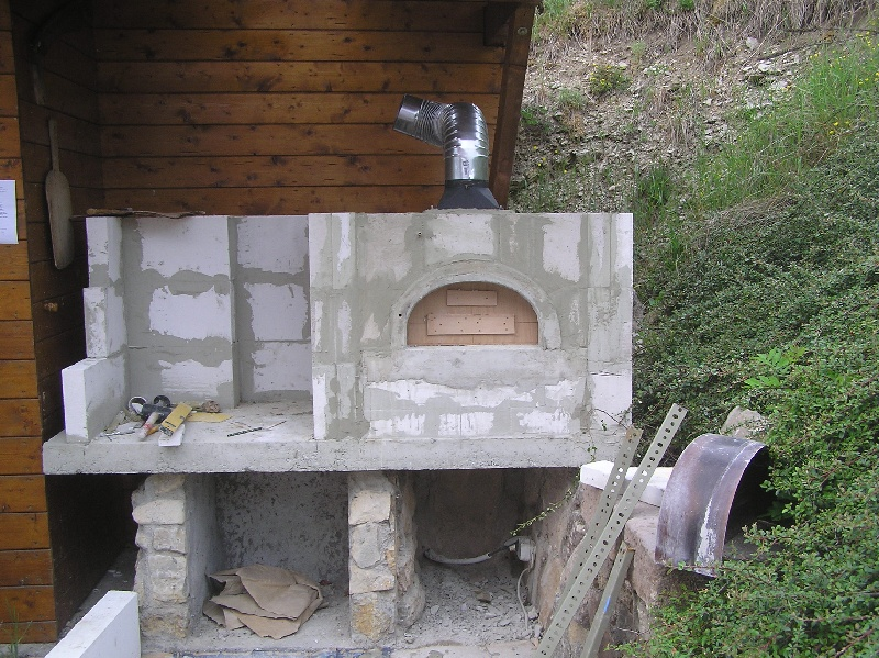 eigenbau grill steinbackofen kombination grillforum und bbq. Black Bedroom Furniture Sets. Home Design Ideas