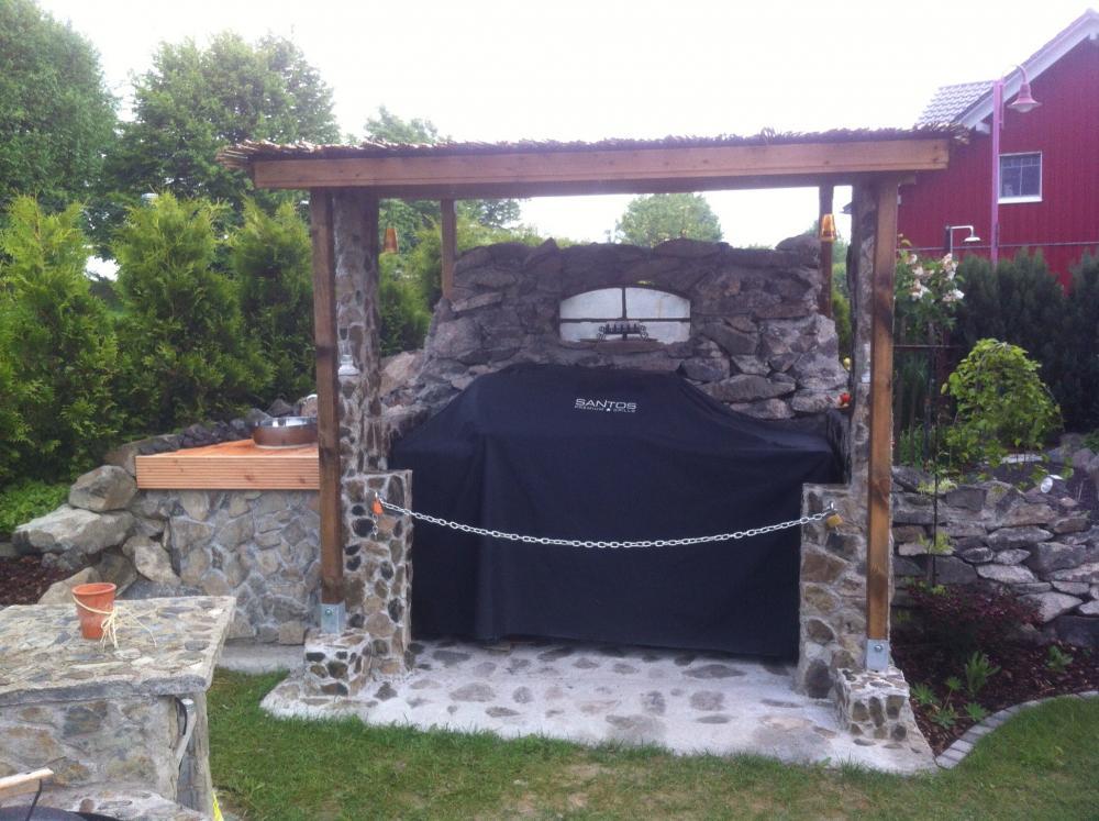 Unterstand Für Gasgrill : Grillecke ist fertig . . . grillforum und bbq www