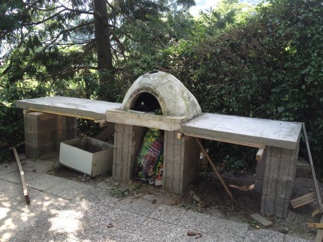 Außenküche Mit Pizzaofen : Außenküche selber bauen gute ideen und wichtige tipps in