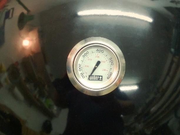 Weber Holzkohlegrill Thermometer Nachrüsten : Weber go anywhere mit thermometer nachrüsten grillforum und bbq