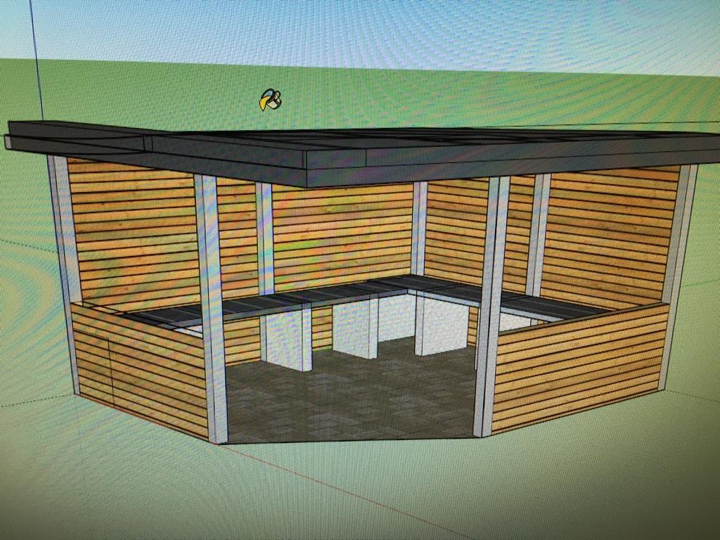ich wollte doch nur meinen grillunterstand erneuern seite 7 grillforum und bbq www. Black Bedroom Furniture Sets. Home Design Ideas