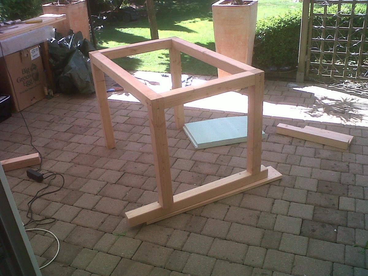 bge tisch eigenbau grillforum und bbq. Black Bedroom Furniture Sets. Home Design Ideas