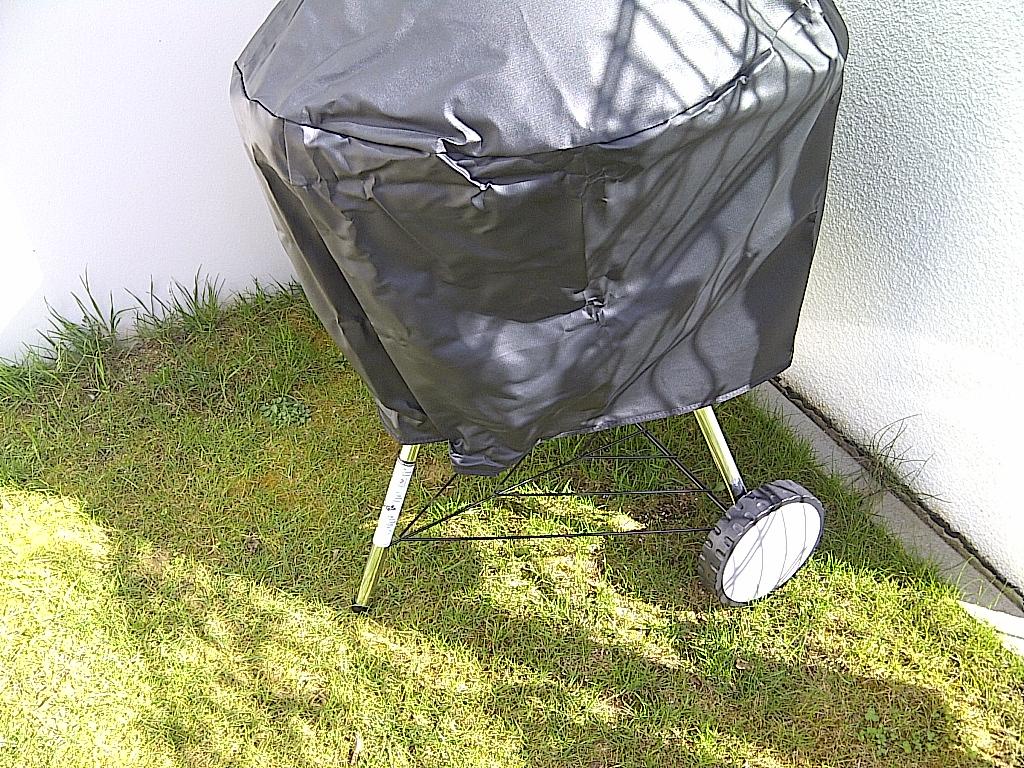 abdeckhaube zu klein f r weber otp 57 grillforum und bbq. Black Bedroom Furniture Sets. Home Design Ideas