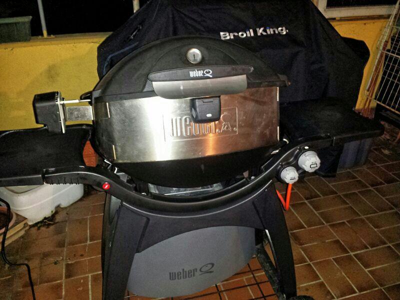 Weber Elektrogrill Drehspieß : Weber grill drehspieß q: weber drehspieß günstig kaufen ebay
