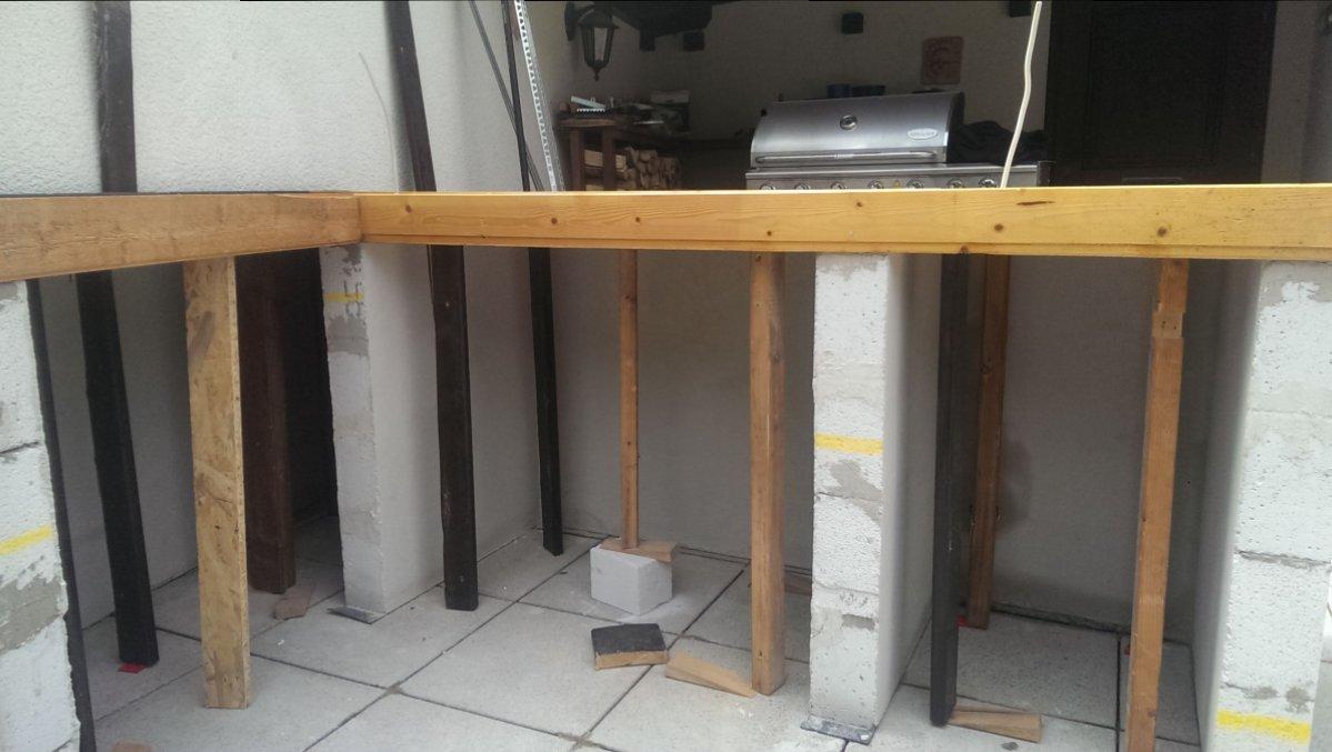erste grillk che mehr arbeit als gedacht grillforum und bbq. Black Bedroom Furniture Sets. Home Design Ideas