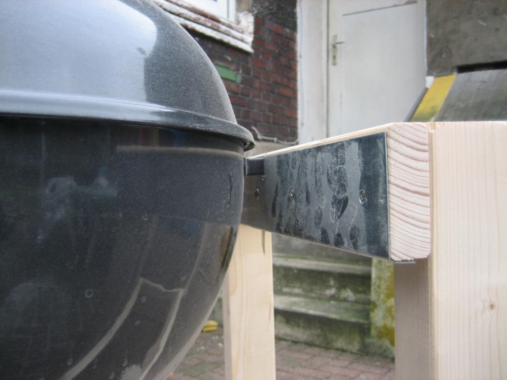 Polyrattan Gartenmobel Willhaben : küche selber bauen  Grilltisch für 57iger Weberkugel selber bauen