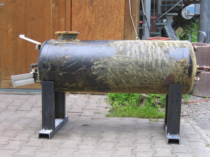 mein bbq smoker ist auch bald fertig grillforum und. Black Bedroom Furniture Sets. Home Design Ideas