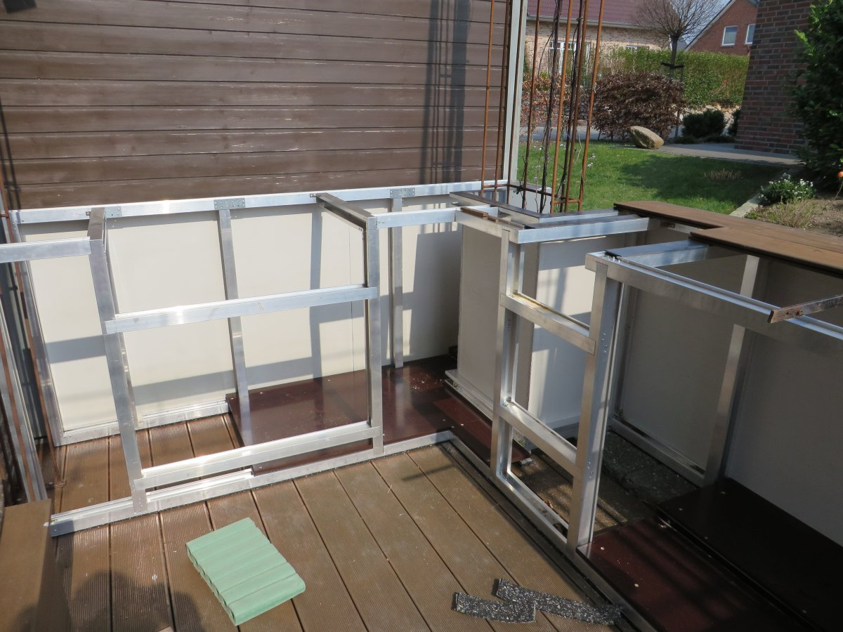 Türen Für Außenküchen : Außenküche aus holz mit us importen seite 2 grillforum und bbq