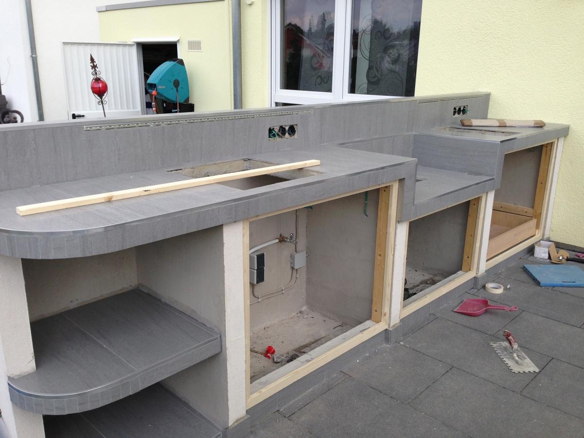 Türen Für Außenküchen : Türen außenküche außenküche selber bauen u beispiele für