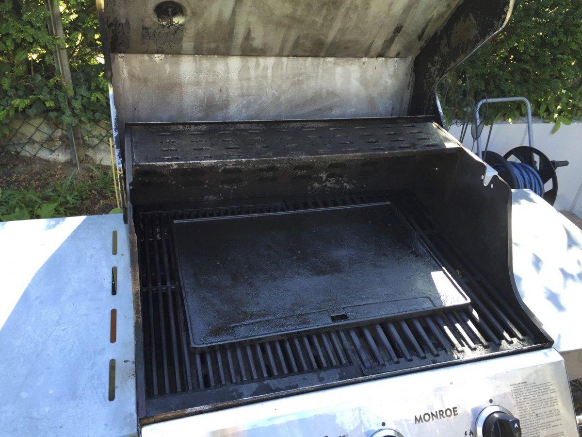 Enders Gasgrill Forum : Verkauft] enders monroe 3 grill mit gussrosten und wendeplatte